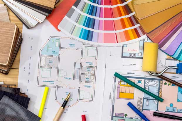 How to Draw an Interior Design