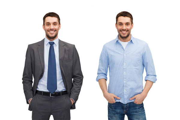 what is business casual for men