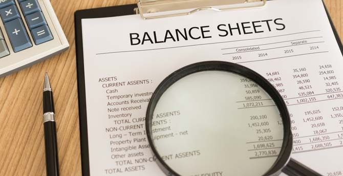 To See The Balance Sheet