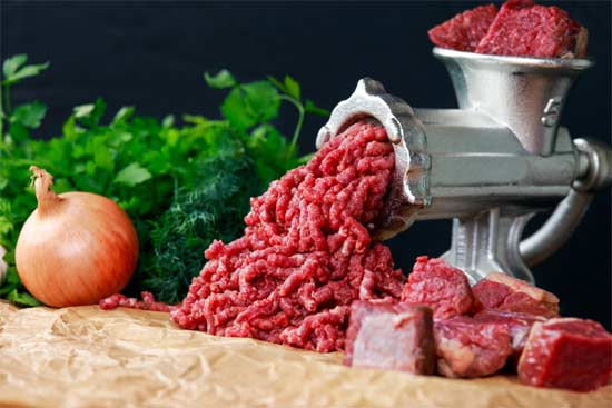 Meat grinder used by Vegetarians