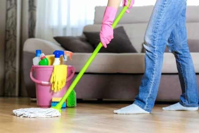 what are the steps to cleaning your room