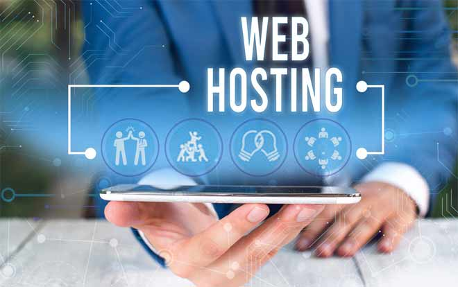 How does web hosting server work