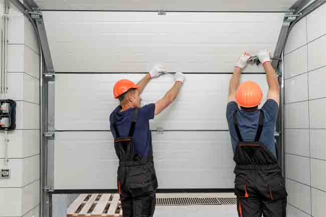 How to Install a Garage Door Track