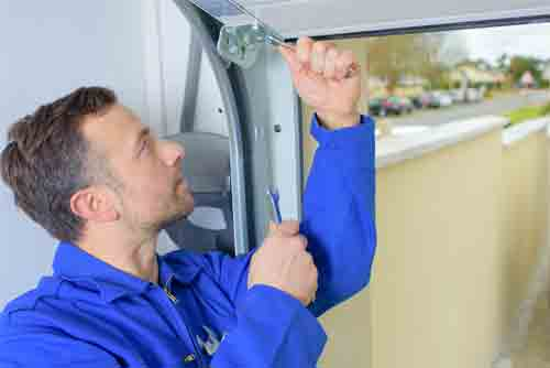 Steps to install garage door