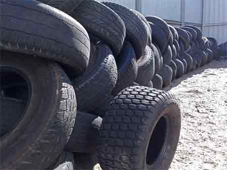 Different types of tires and rotation options