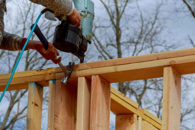 How to use a Nail Gun for Fencing